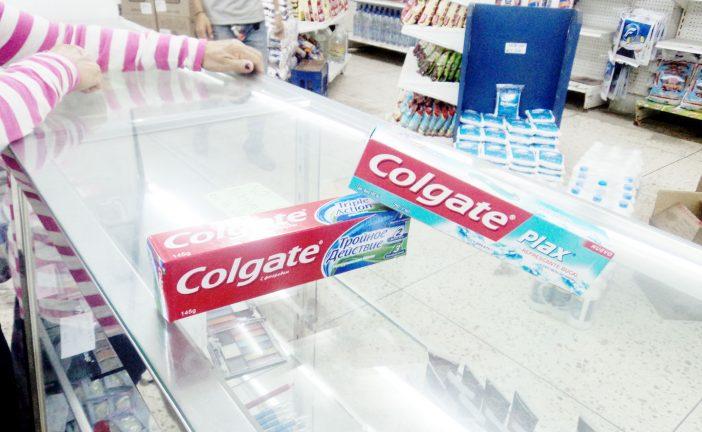 Crema dental incrementó un 400% en un mes