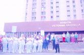 Enfermeros del HVS protestaron por salarios y falta de insumos