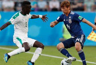 Japón y Senegal empataron en un partido bastante vibrante