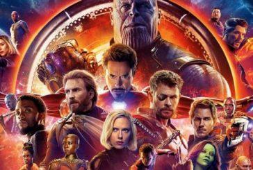 """Avengers: Infinity War"" continúa arrasando en la taquilla nacional"