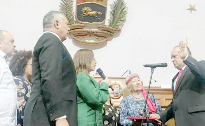 Diosdado Cabello asume  como presidente de la ANC