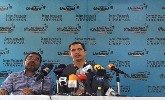 MUD no reconoció a Zapatero como interlocutor de diálogo