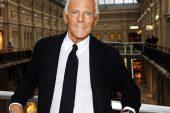 Giorgio Armani clausura la Moda Masculina de Milán con tejidos de lino