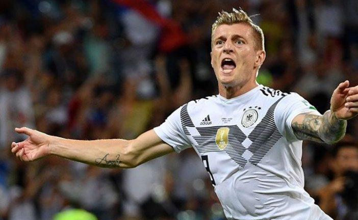 Toni Kross sentenció victoria de los alemanes 2-1 ante Suecia