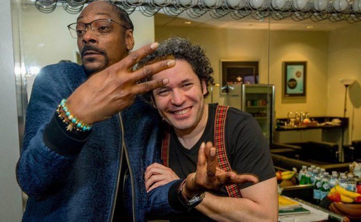 Snoop Dogg conoció a Gustavo Dudamel