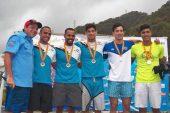 Abraham Colmenares y Annagrazia Bosanti dominaron prueba individual del Campeonato Nacional de Aguas Abiertas