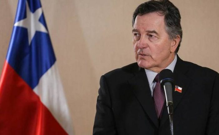 Canciller de Chile afirma que Ortega debe cesar represión contra su pueblo