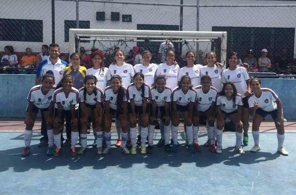 Selectas de Miranda participan en el II Nacional de Futsal Femenino