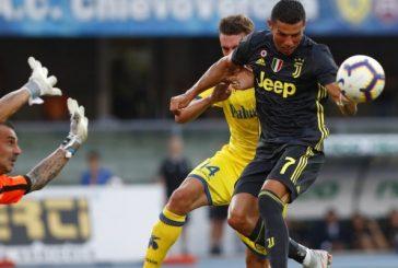 Cristiano Ronaldo se estrenó sin goles pero con victoria en la Juventus
