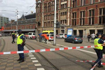 Abatido el autor de un doble apuñalamiento en la estación principal de tren de Ámsterdam