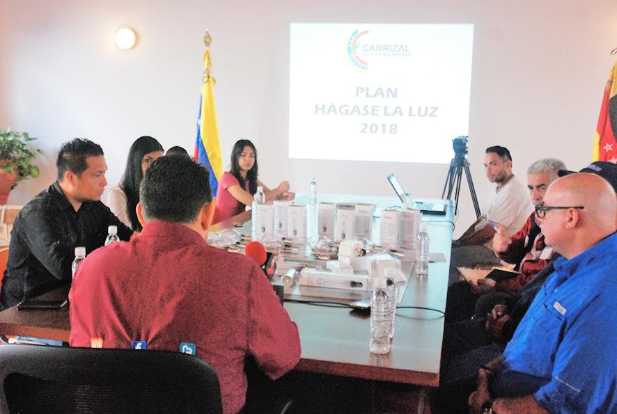 """Ayuntamiento dio Inició al plan """"Hágase la Luz"""""""
