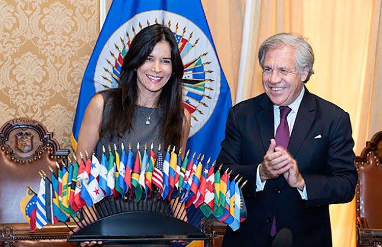 Patricia Velásquez nombrada defensora de los indígenas en la OEA