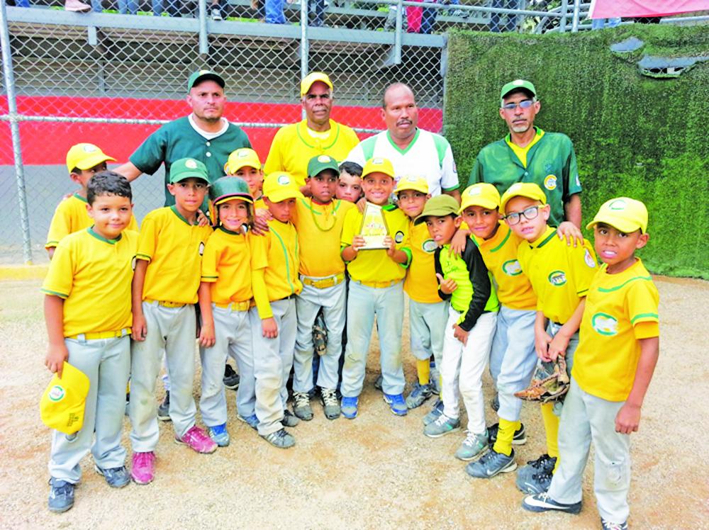 Cachorros subcampeón en beisbol preinfantil interligas