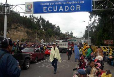 ONU: Alrededor de 547 mil venezolanos están refugiados en Ecuador