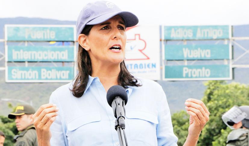 EE.UU dona 9 millones de dólares a Colombia para ayudar a venezolanos