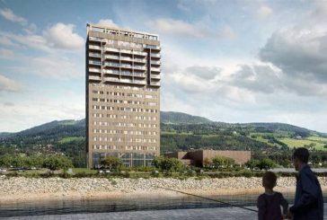 Noruega construye la torre de madera más alta del mundo