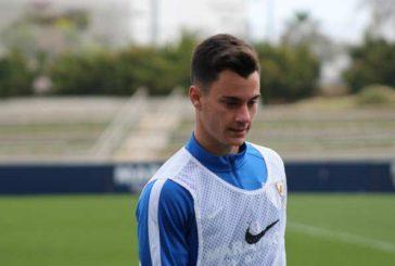 Juanpi Añor se reintegró al primer equipo del Málaga
