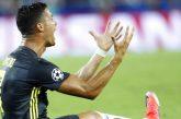Cristiano fue expulsado en su estreno con la Juventus en Champions