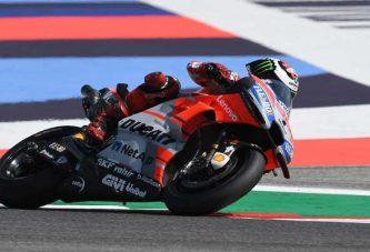 Lorenzo ya entrenó en el circuito de Aragón