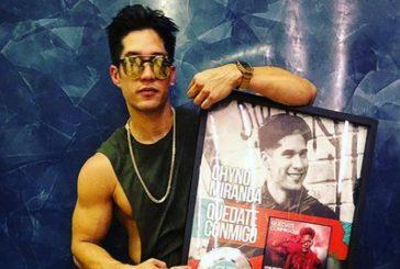 """Chyno Miranda obtuvo premio Canción de platino por su tema """"Quédate conmigo"""""""