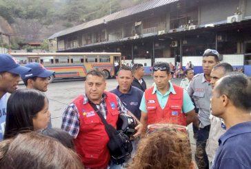 Gobierno nacional inspecciona rutas suburbanas de la Gran Caracas