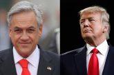 Donald Trump se reunirá con Sebastián Piñera para tratar situación de Venezuela
