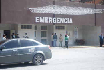 Emergencia del HVS sin doctores el fin de semana