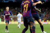 Barça debuta en Champions con goleada al PSV