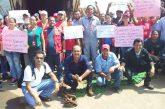 Trabajadores de Conferry protestaron este viernes