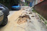 Calle Fermín Toro lleva tres años intransitable