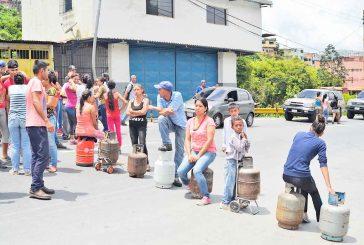 Trancan la Panamericana por falta de gas