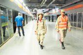 Reboblan seguridad en el Metro con milicianos