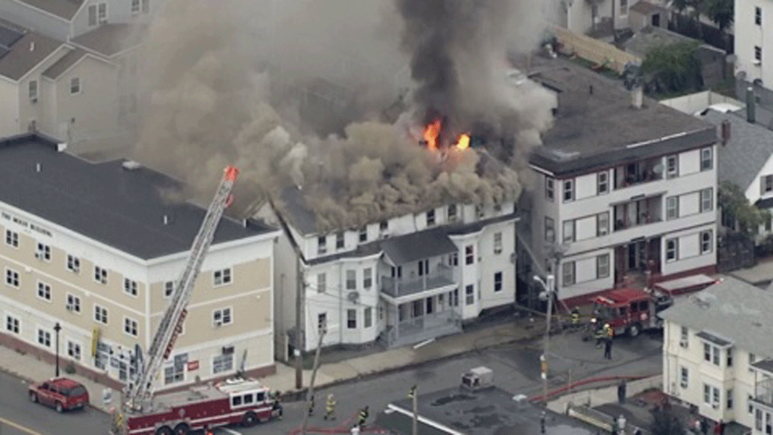 Pánico se apodera de Massachusetts tras explosiones e incendios