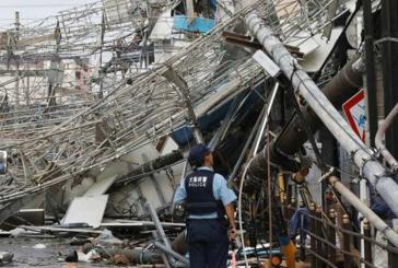 Asciende a siete los muertos en Japón por paso de tifón