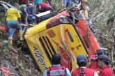 Accidente de tránsito en Ecuador dejó 12 muertos y 27 heridos
