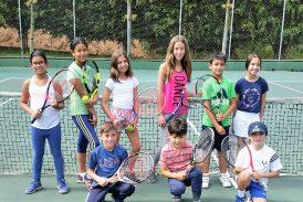 Valeria Noriega triunfó en el round robin de tenis de cancha