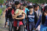 La caravana de migrantes de Honduras que intenta ingresar a México