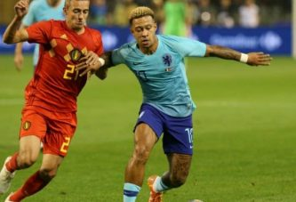 Bélgica y Holanda igualaron en Bruselas