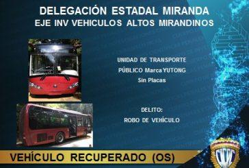 Cicpc abatió a seis ladrones de autobús