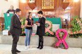 """Josemith Bermúdez recibe condecoración """"Beata Madre Carmen Rendiles"""""""