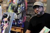 Artista presenta obras inspirada en éxodo venezolano