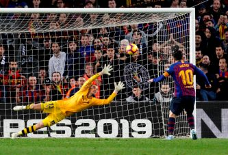 3-4. El Barcelona cayó ante el Betis, pero se mantiene como líder de LaLiga