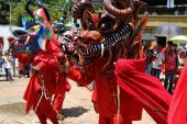 Diablos de Yare danzarán en China