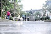 Alcaldía prevé pulir piso de la plaza Bolívar