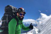 Adam Álvarez, el primer montañista venezolano en escalar la octava cumbre del mundo