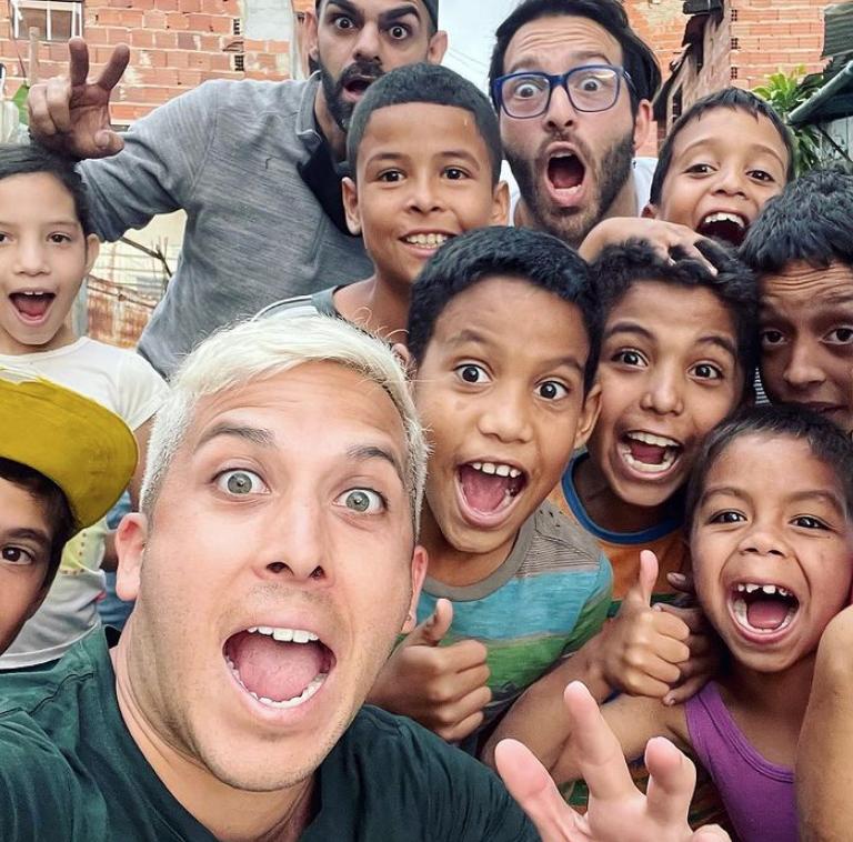 Alex Tienda recauda más de $75.000 para niños petareños - Diario Avance